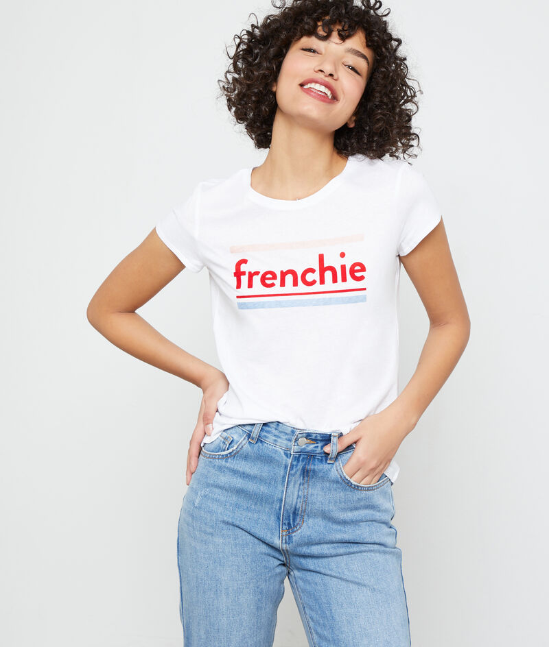 "T-Shirt aus Bio-Baumwolle ""frenchie"""