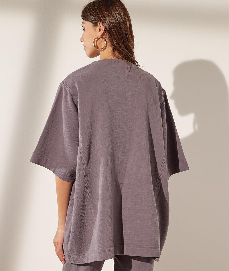 Kimonojacke aus Baumwolle