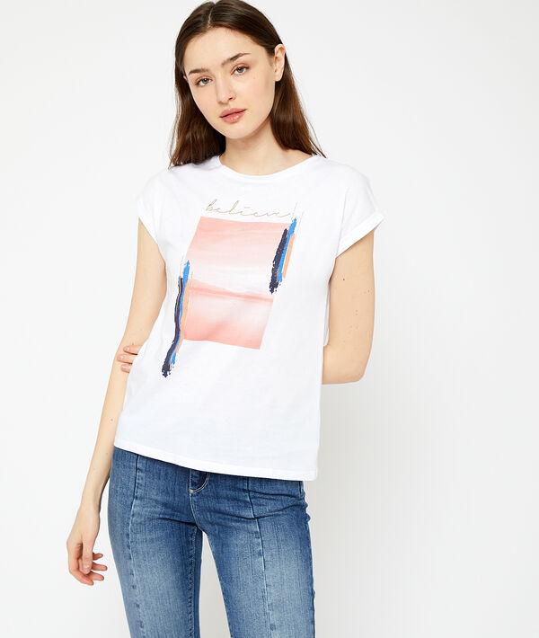 """T-Shirt """"believe"""" aus Bio-Baumwolle"""