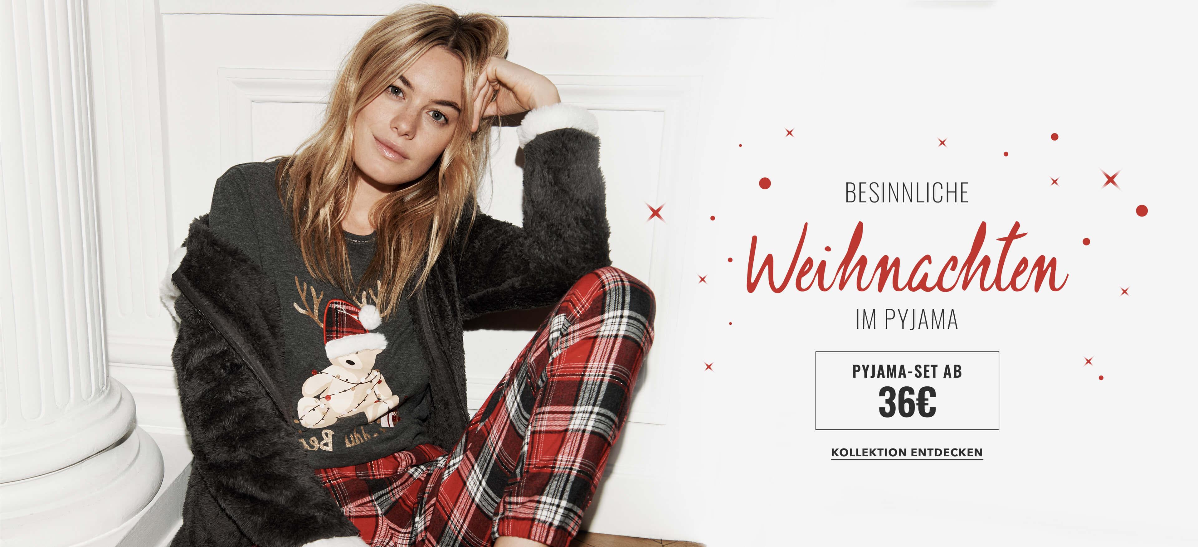 BESINNLICHE Weihnachten im pyjama